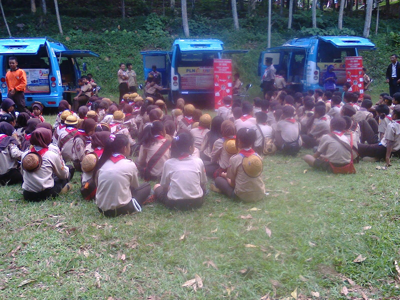 4 Unit MPLIK Operasional pada Jambore Cabang 4
