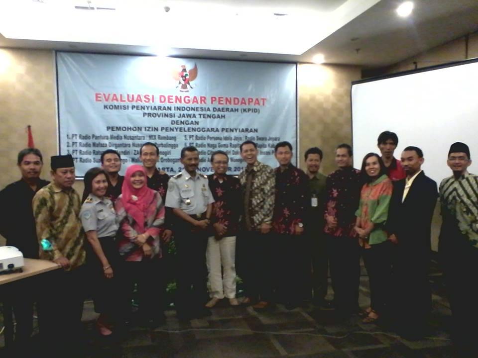 2 Lembaga Penyiaran Swasta Kabupaten Purbalingga Ikuti Evaluasi Dengar Pendapat