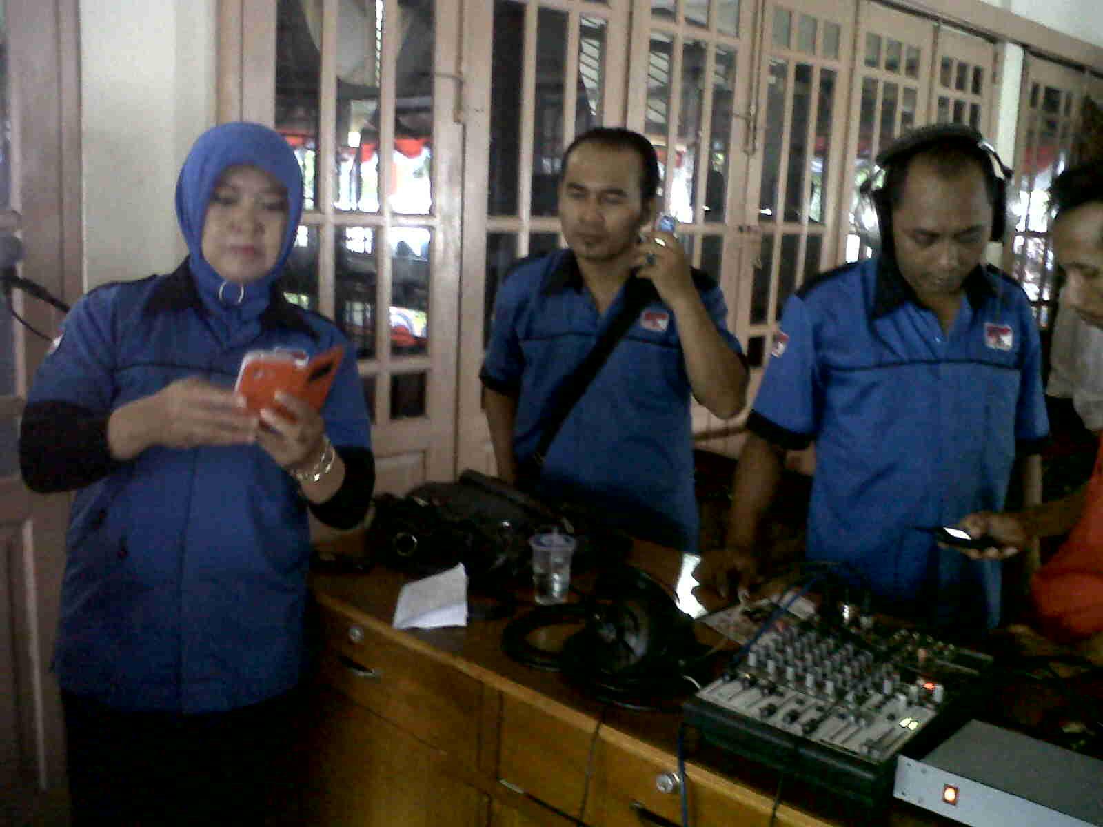 Pelantikan Bupati Purbalingga disiarkan secara langsung oleh LPPL Radio Suara Perwira