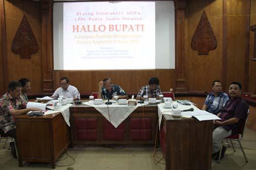 Pemkab Purbalingga Siap Sukseskan Pemilu Legislatif 2014