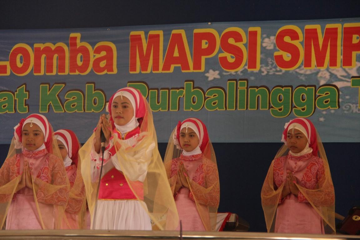 Lomba Mapsi Ke -8 SMP Se-Kabupaten Digelar
