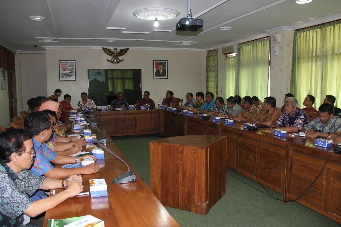 Pemkab Sragen Studi Banding Pengelolaan Tanah Kas Desa ke Purbalingga