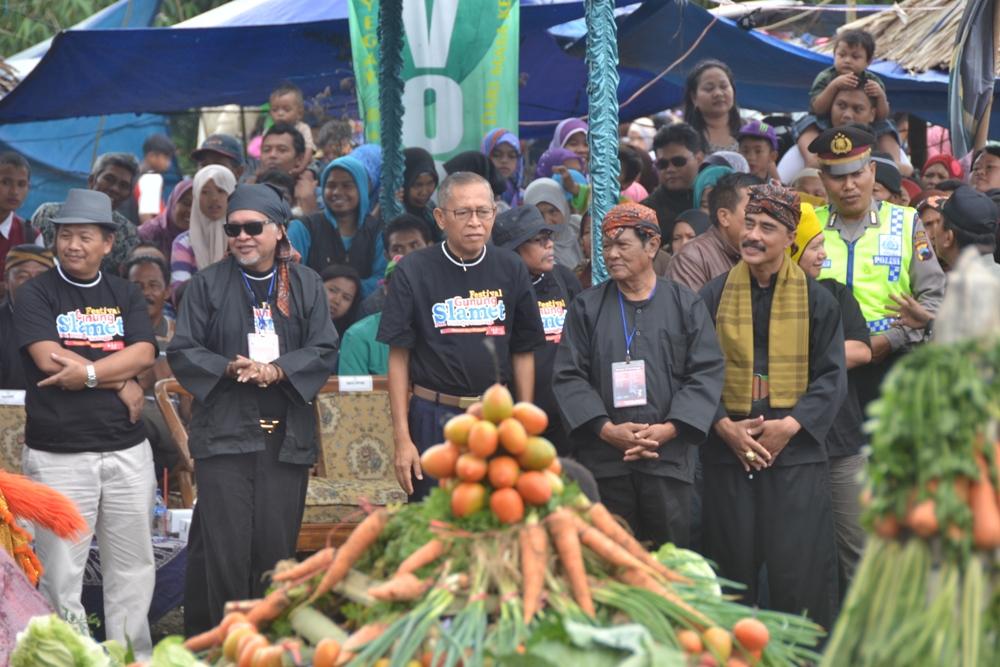 Festival Gunung Slamet Berakhir, Bupati Optimis Mampu Tingkatkan Kunjungan Wisata.