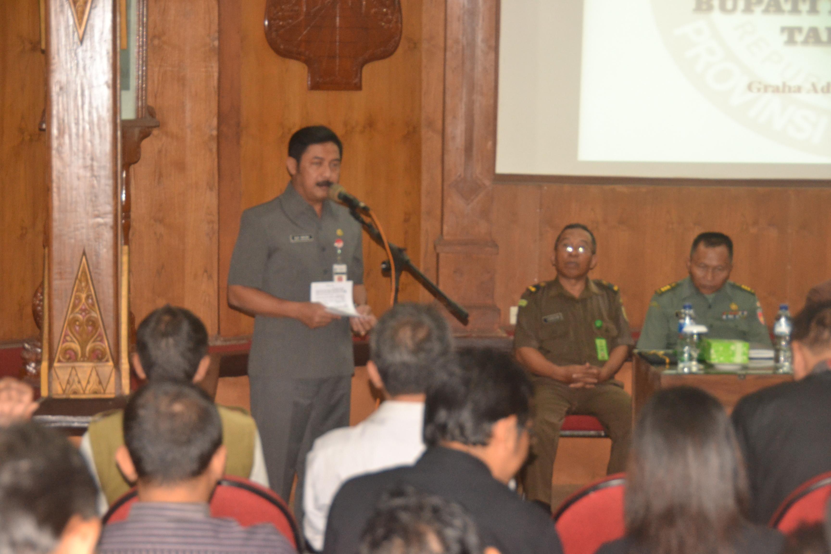 Pj Bupati Purbalingga Ingin Partisipasi Masyarakat dalam Pilkada Tinggi.