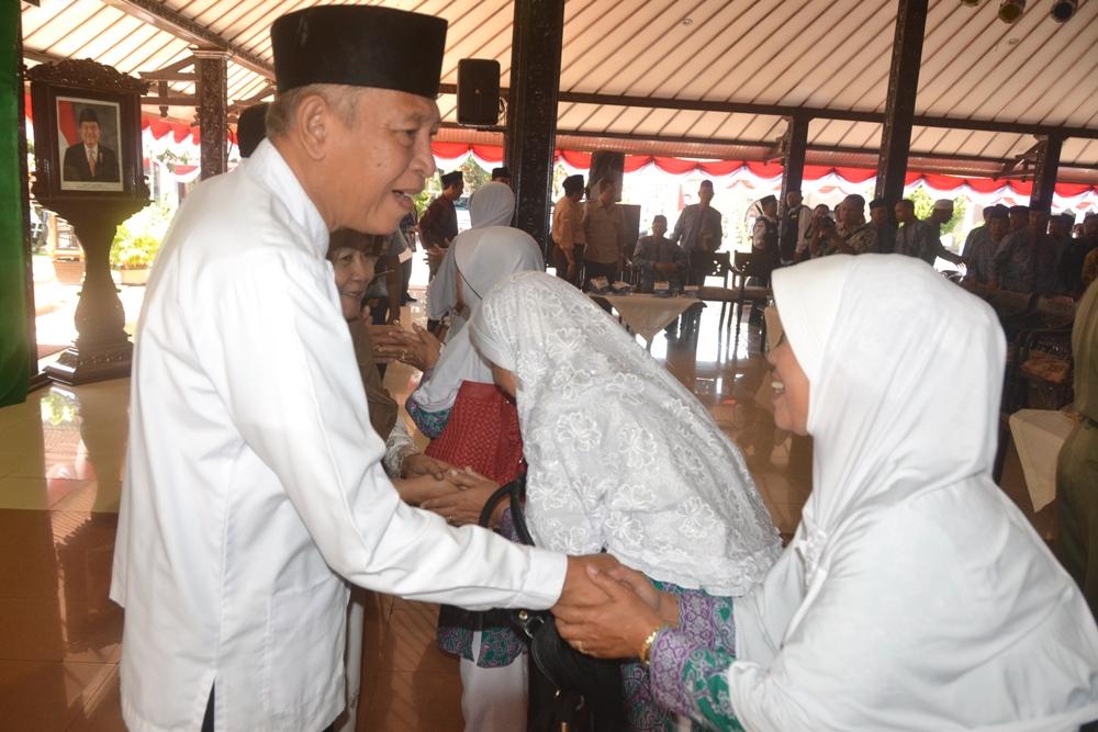 413 Calon Jamaah Haji Purbalingga Pamitan.