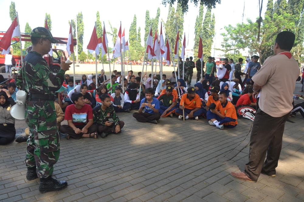 Upacara HUT RI Dimeriahkan Pementasan Drama Teatrikal Perjuangan Soekarno dan Soedirman.
