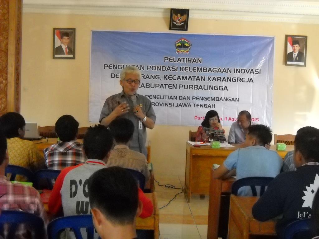 Balitbangprov Jateng Perkuat Agrowisata Serang Lewat SIDa