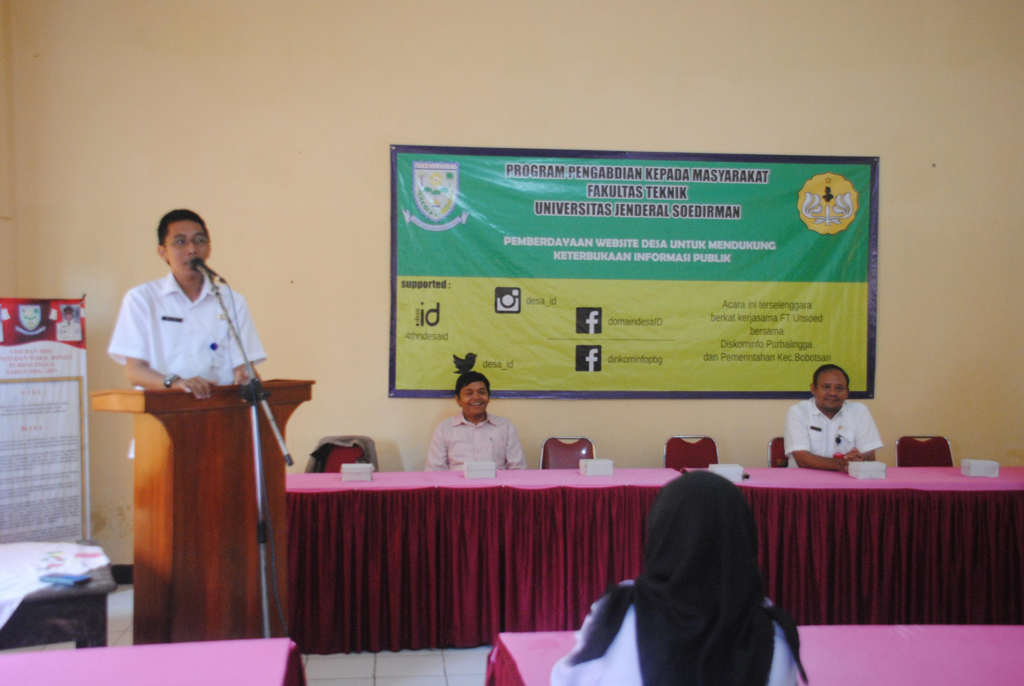 50 Desa di Purbalingga belajar Website Desa