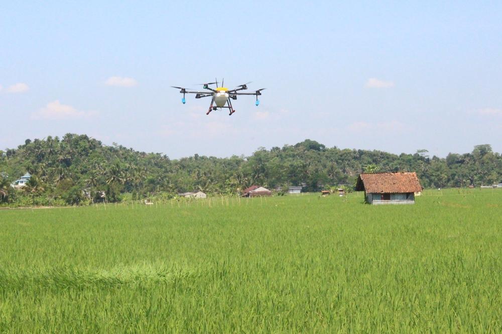 Purbalingga Kembangkan Teknologi Drone untuk Pertanian Berkelanjutan