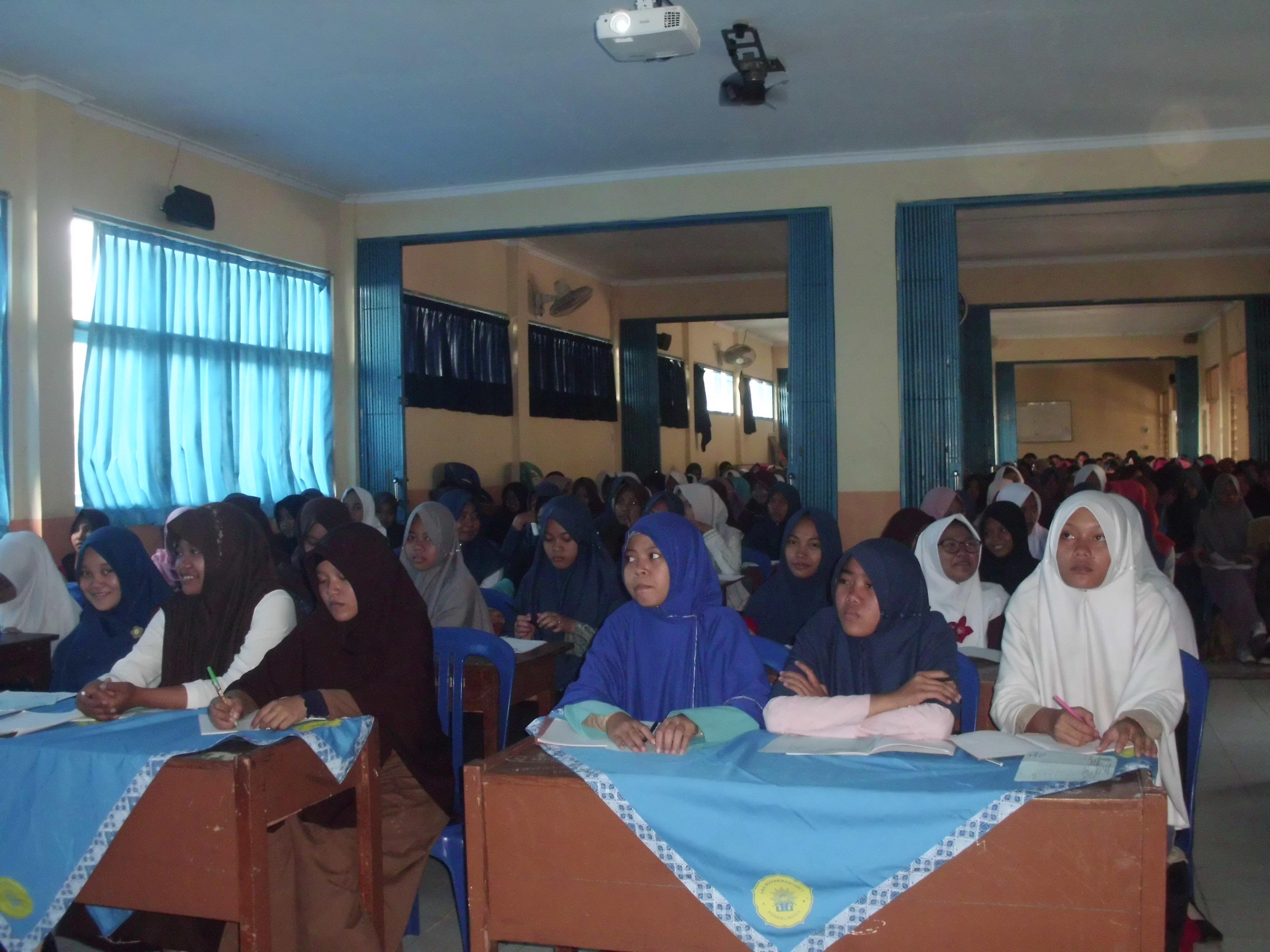 Semarak Ramadhan, SMA 1 Muhamadiyah Purbalingga Gelar Amaliah