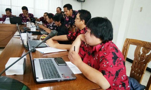 20 Desa Ikuti Pelatihan Website