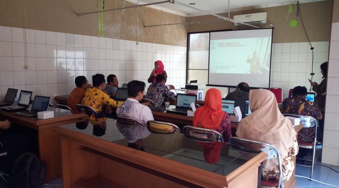 Dinkominfo Purbalingga Latih Admin OPD Unggah SAKIP