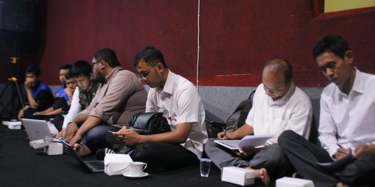 Penyiar Radio Gema Soedirman Ikuti Pelatihan Jurnalistik Radio