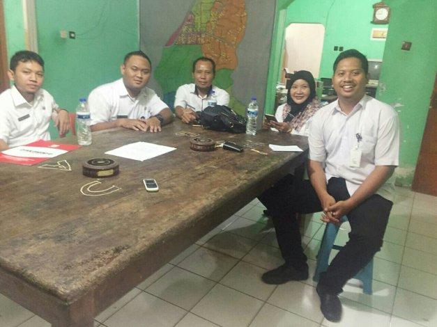 Optimalkan Website Desa Dinkominfo Sambangi Desa Makam