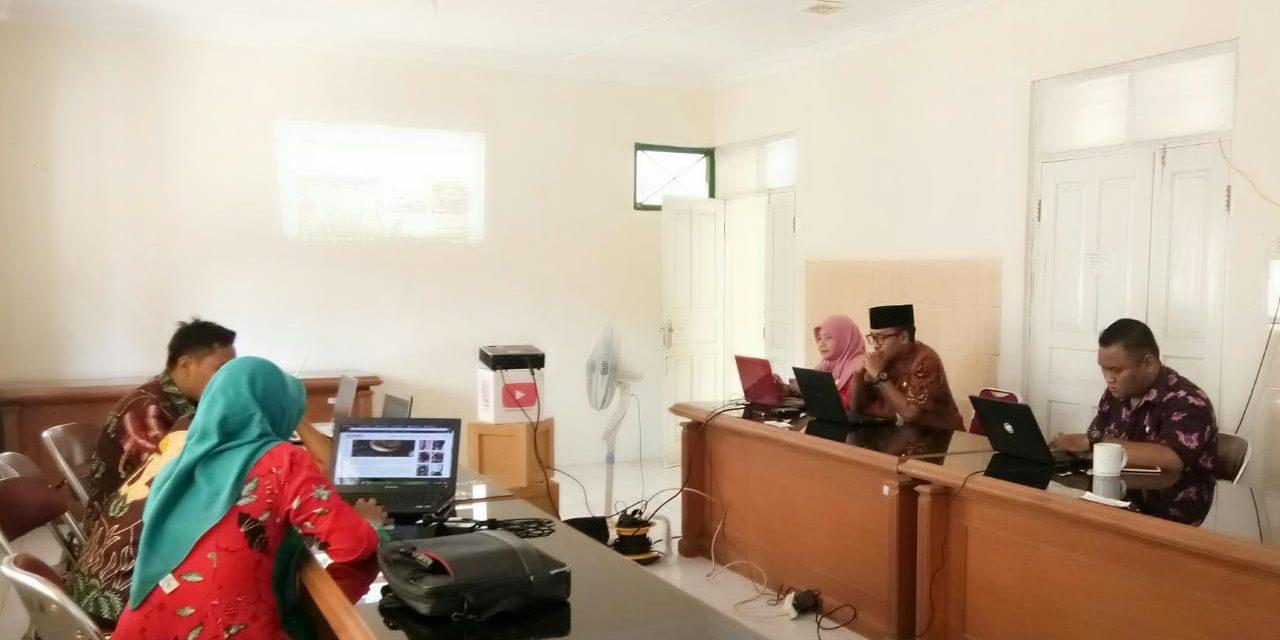 Dinkominfo Purbalingga Adakan Pelatihan Update Konten Website Kerajinan