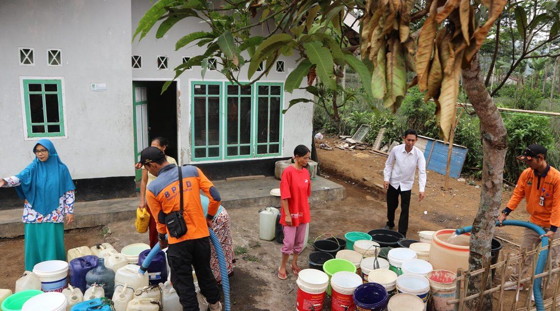 ASN Dinkominfo Purbalingga Peduli Air Bersih di Desa Karangreja
