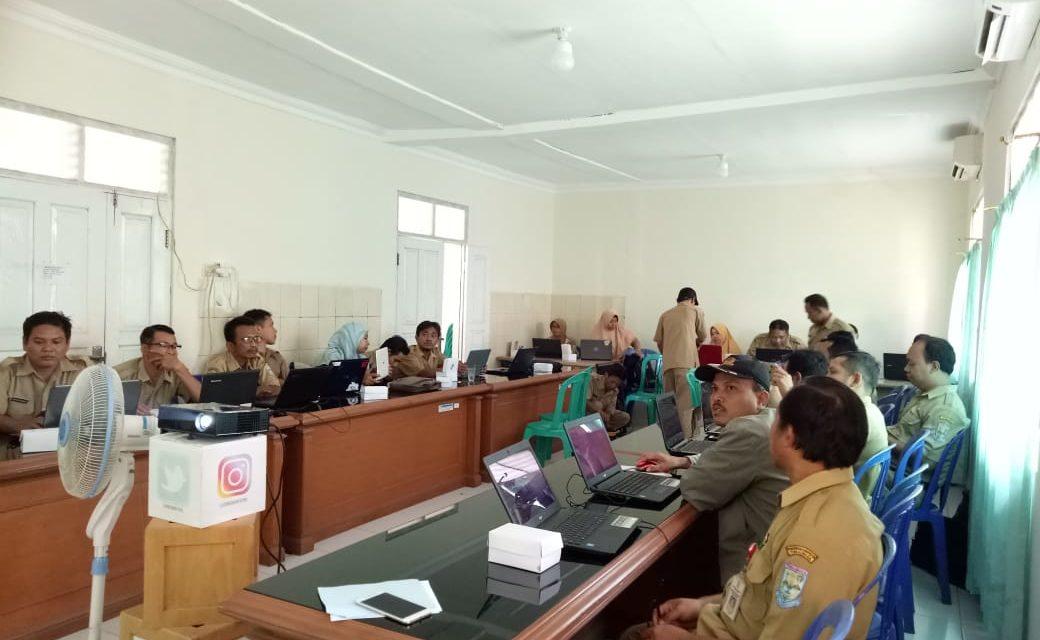 DINKOMINFO Selenggarakan Bintek SID untuk 7  Kecamatan